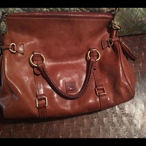Dooney and Bourke large leather bag